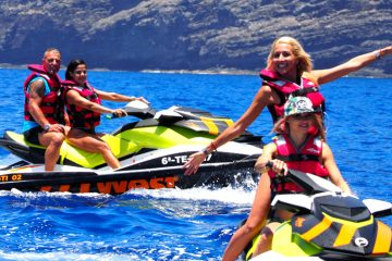 Jet Ski West Tenerife con amigos