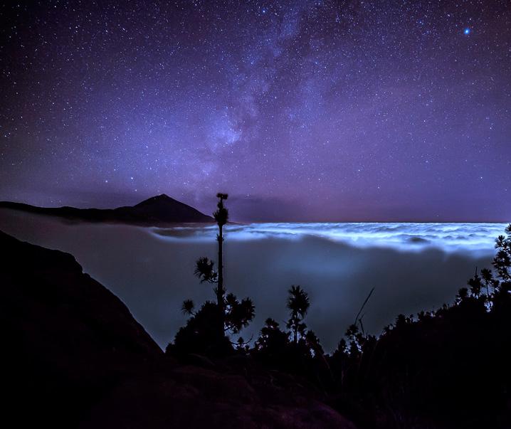 Stars Teide Night