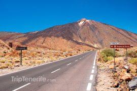 En camino al Teide
