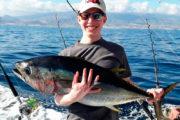 Pescador contento a Tenerife