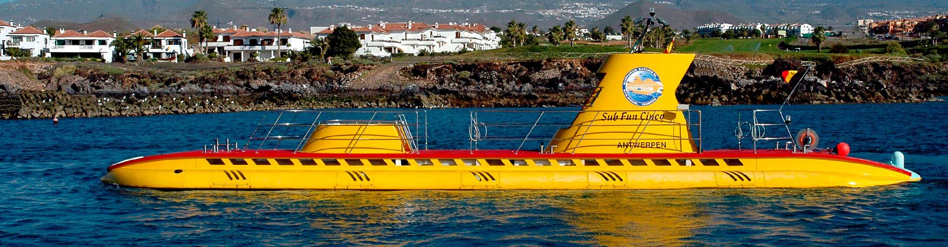 Paseo en Submarino